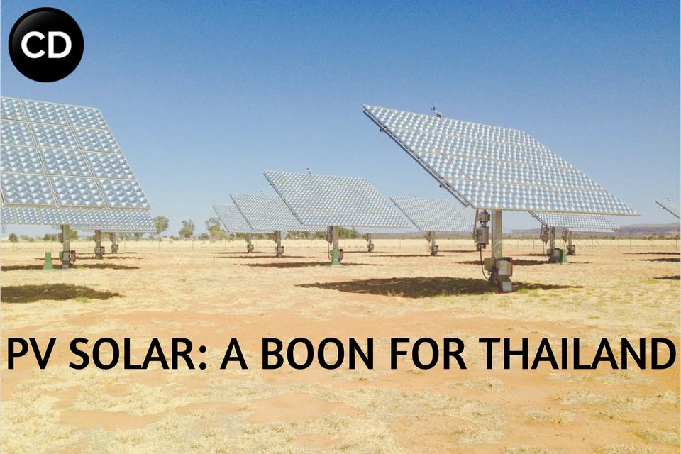PV SOLAR- A BOON FOR THAILAND