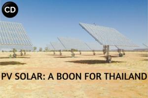 PV Solar: A Boon for Thailand