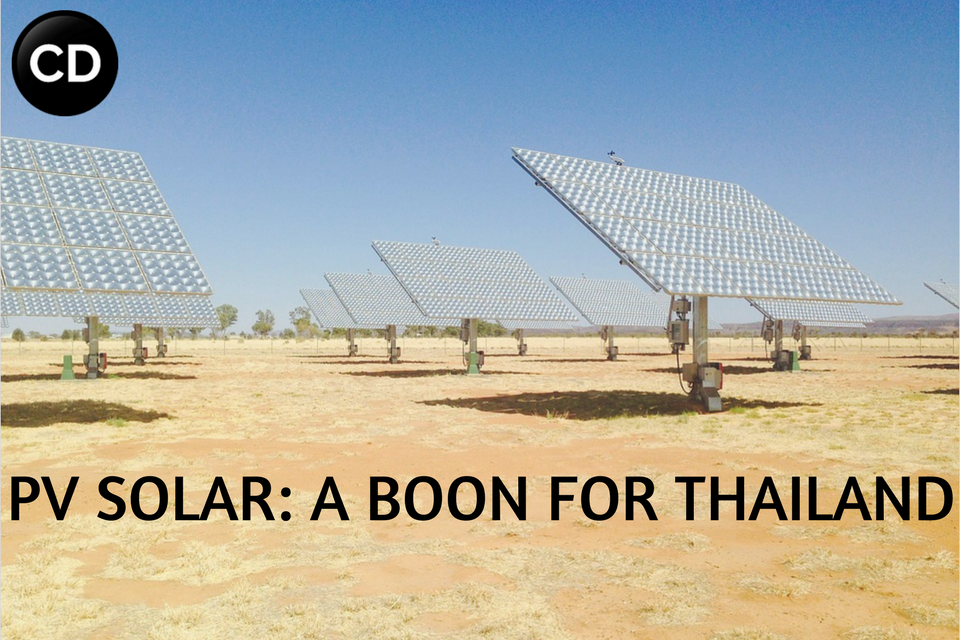 PV SOLAR- A BOON FOR THAILAND