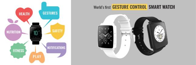 Gesture Control Smartwatch