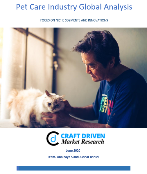 Pet Care Industry Global Analysis 2020